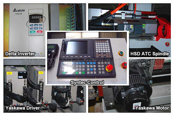 Mastec Main configuration of ATC Woodworking cnc router
