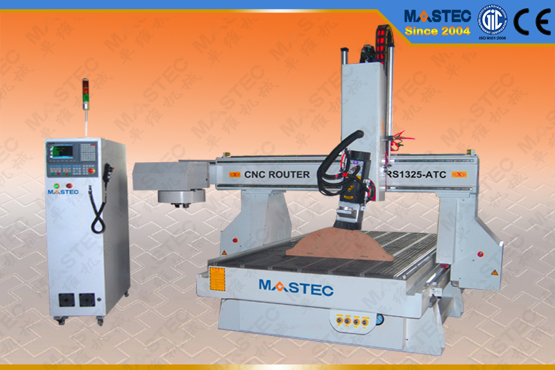 4 Axis ATC CNC Router  MARS1325-RATC For CNC Engraving
