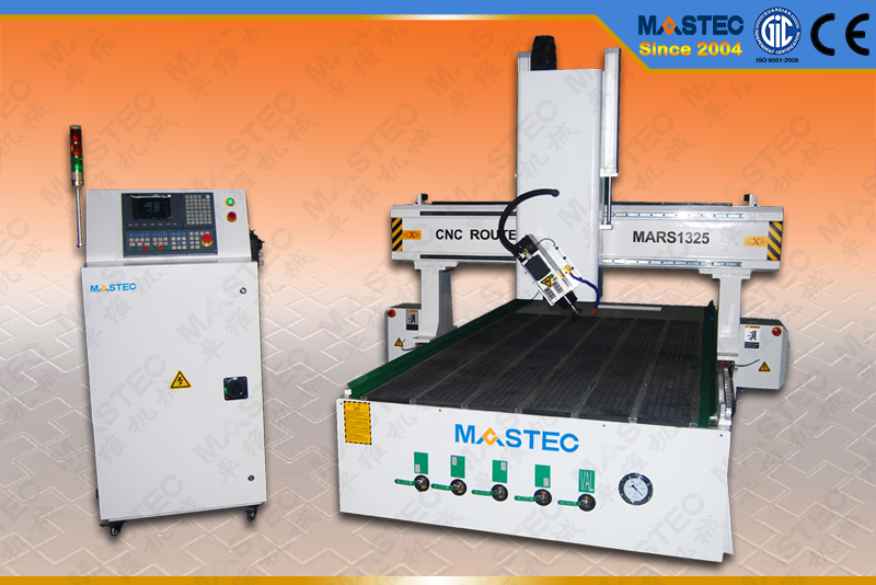 4 Axis CNC Router MARS1325 For CNC Carving