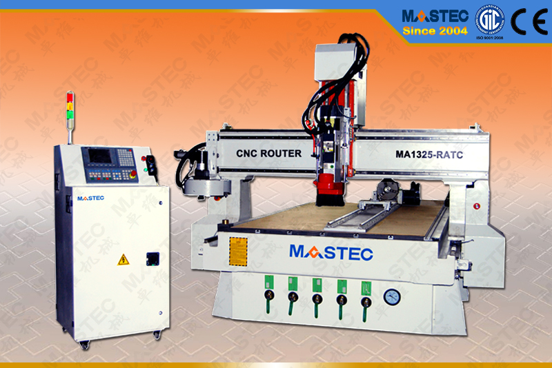Wood CNC Router with Round Disk ATC  MA1325-RATC