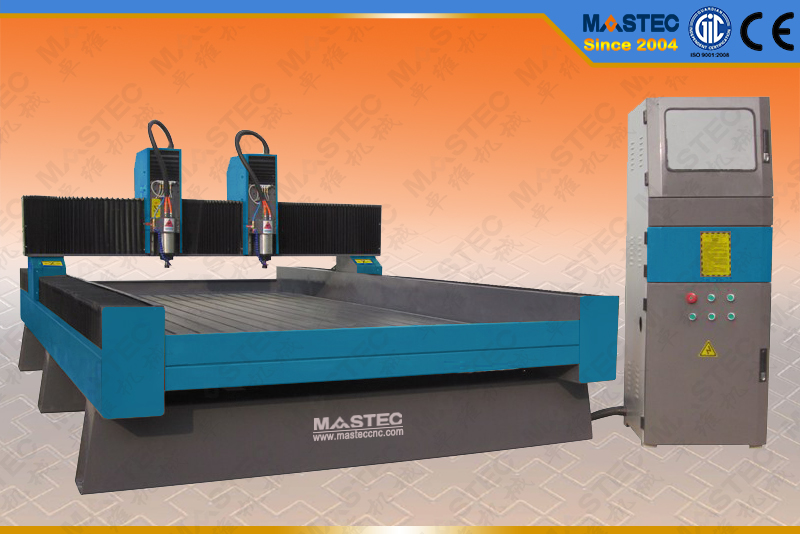 CNC Stone Engraving Machine with Double Heads (MAS1530-DH)