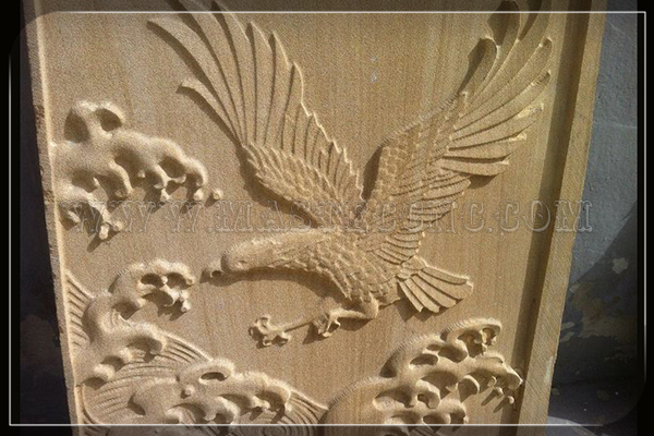 stone engraving by stone cnc router