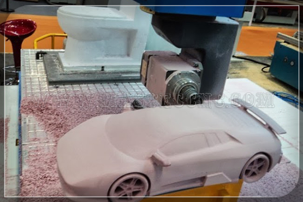 Car Model by 5 Axis CNC Router