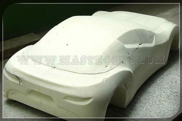 Automobile Model by 5 Axis CNC ROUTER Machine