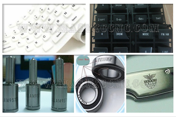 Mastec working sample produced by carbo dioxide laser marking machine