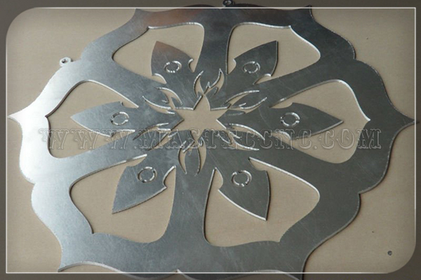 Stainless steel pattern cutted by plasma cutting machine