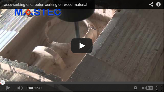 woodworking cnc router working on wood material