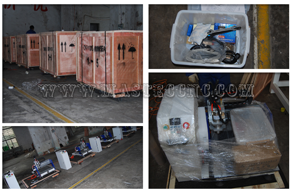5 sets of MA0404 Small CNC Router Machine Delivered to Ecuador